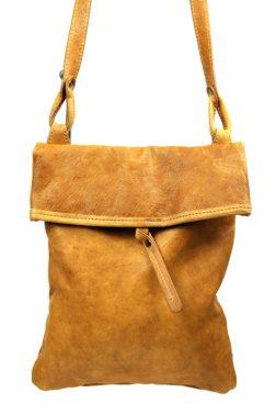 Slim Shoulder Bag (0820) in Tan
