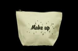 Basix Make Up Case - Canvas- Front