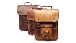 Goat leather backpacks