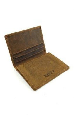 BUFFALO LEATHER CARD HOLDER
