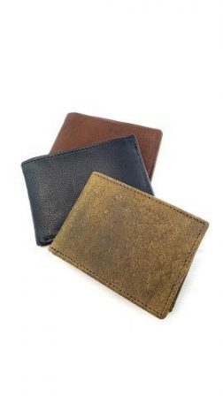 3 FOLD LEATHER WALLETS