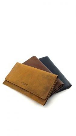 LONG WALLETS MADE OF LEATHER