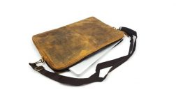 "15"" Buffalo Leather Laptop Case"