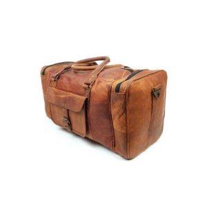 50 inch duffel goat leather travel bag