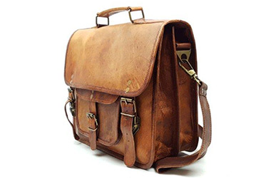 Indiana Rust Goat Leather Bags