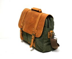GREEN ARMY SATCHEL